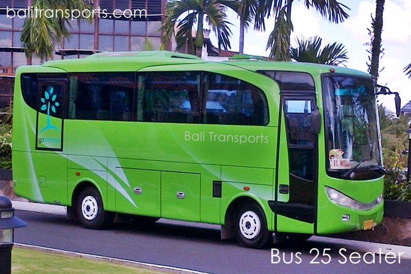 Charter Bus 25 Seater in Bali