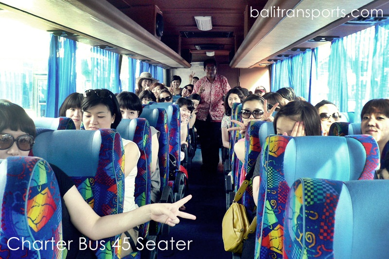 Hire Bus 45 Seater group from Singapore
