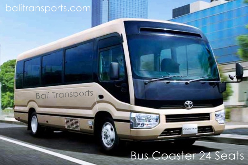 Coaster Bus Charter and Hire cheap in Bali Indonesia