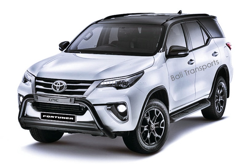 Toyota Fortuner All New Rental in Bali