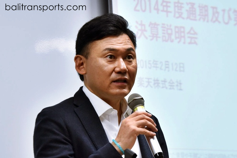 """CEO Hiroshi Mikitani said Olympics this summer will be a """"suicide mission."""