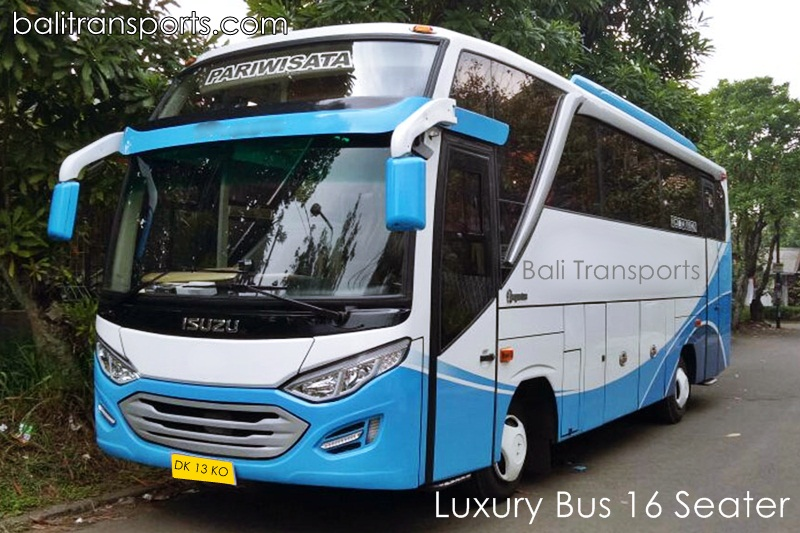 Luxury Bus 16 seats rental and hire Bali