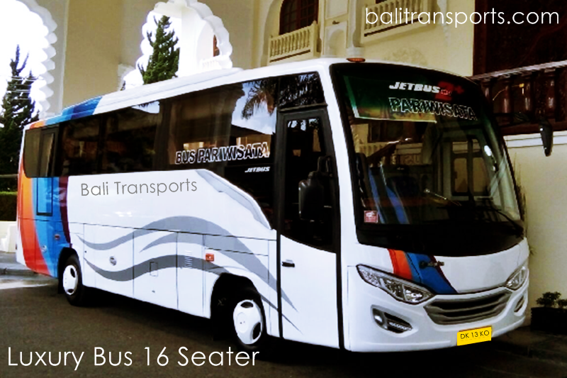 Hire and Charter Luxury Bus 16 seats Bali