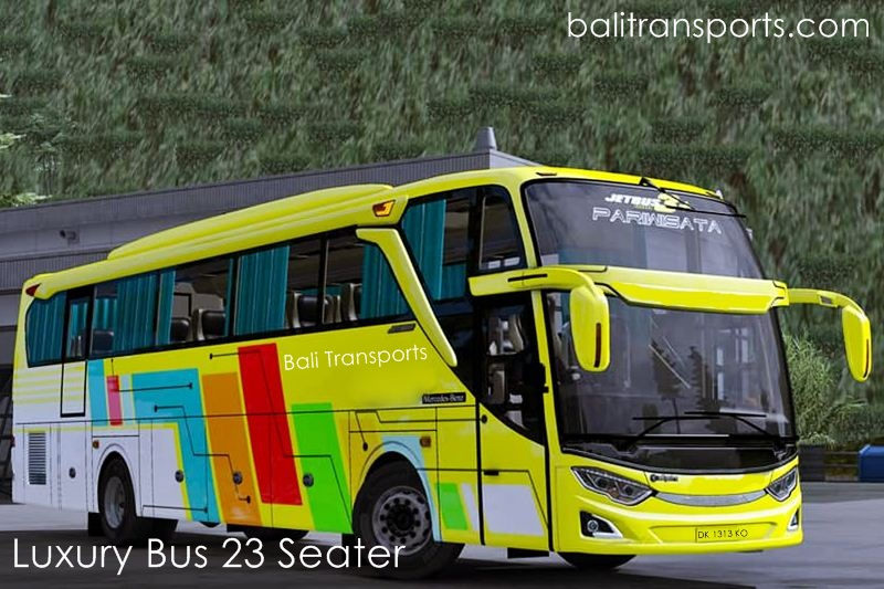 Luxury Bus 23 seats charter and hire Bali