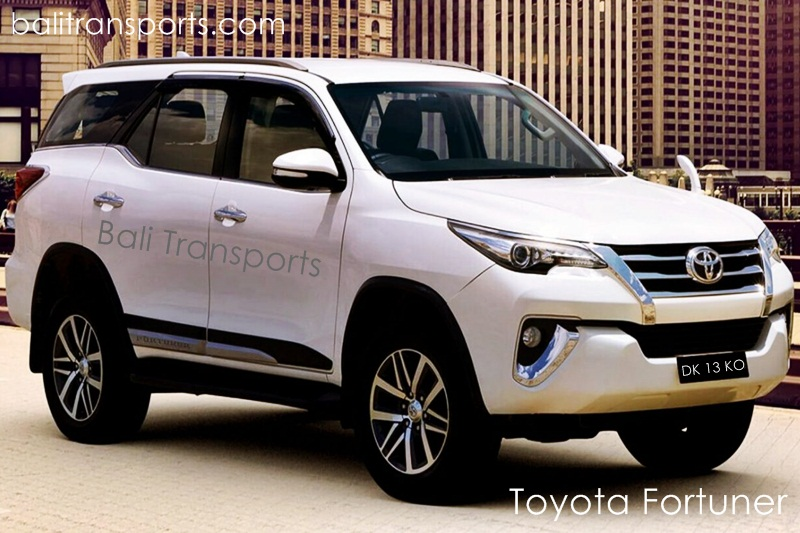 Toyota Fortuner Rental and Charter Bali