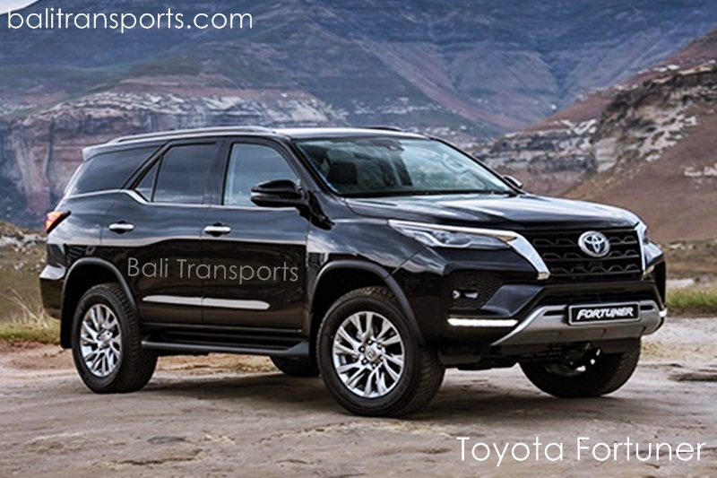 Rental and Hire Toyota Fortuner in Bali